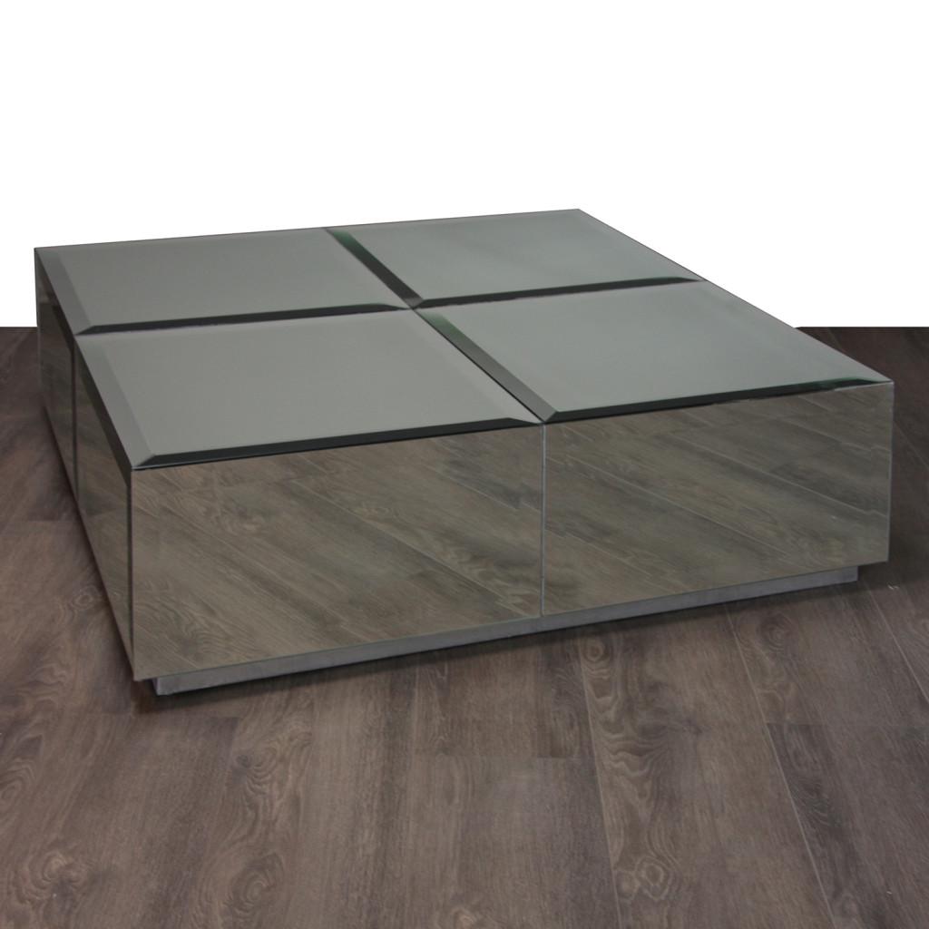 Fabricarte mesa de centro reflex for Espejos para mesa