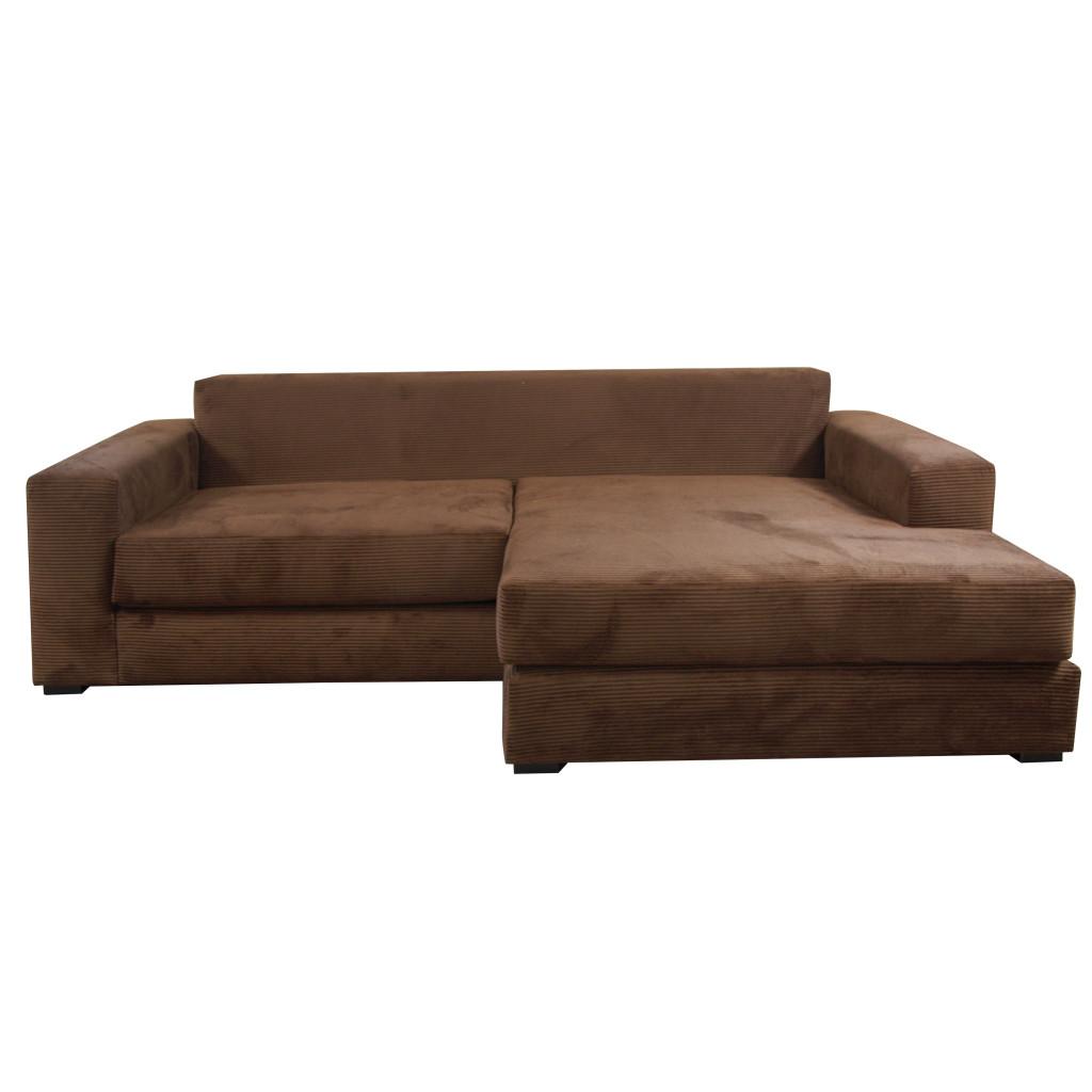 Fabricarte sof danna en escuadra pana caf chaise for Muebles izquierdo